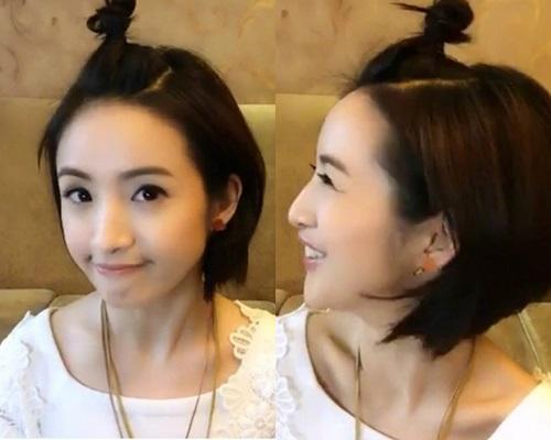 她更当场化身《恶》剧女主角袁湘琴,用调皮可爱的方式同观众打招呼,冧