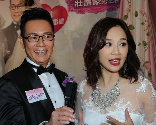 張兆輝與陳松伶齊受訪