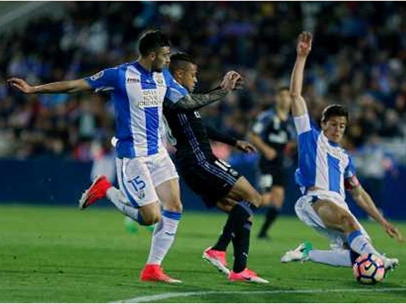 皇家馬德里作客4:2擊敗雷加利斯。AP