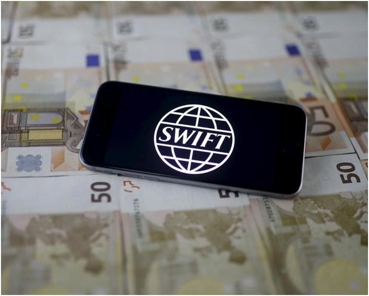 美國國家安全局被指滲透環球銀行金融電訊協會(SWIFT)的銀行網絡。網圖