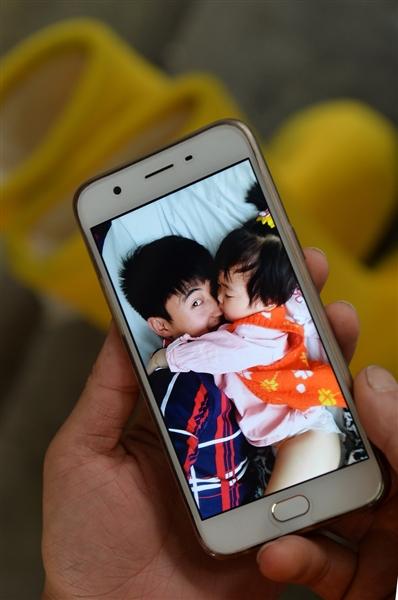 劉躍輝在2015年有了女兒小語嫣。