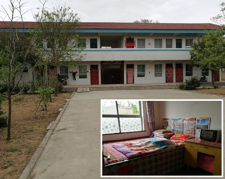 陝西一間希望小學被揭在未經村民同意下,私自「轉讓」予村黨支部書記成為私人住宅。網圖