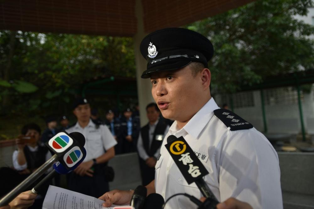 署理將軍澳分區助理指揮官劉俊豪。