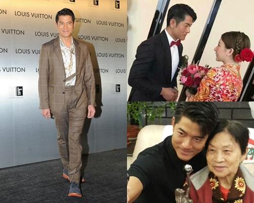 郭富城直言為了阿媽開心,結婚同生仔打孖嚟。
