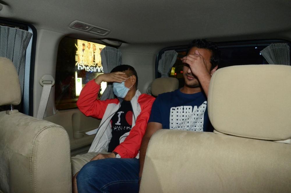 警方拘捕22人。李子平攝