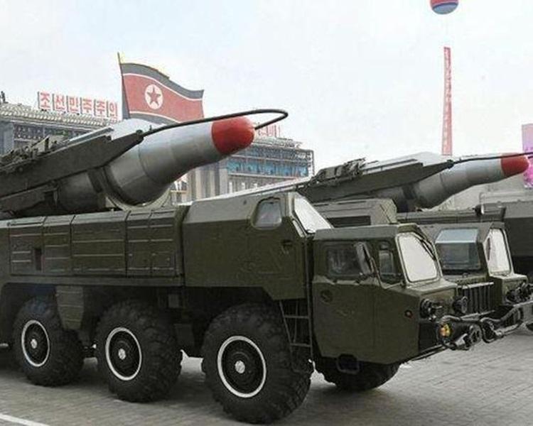 美国官员指,北韩所射的可能是飞毛腿中程导弹。资料图片