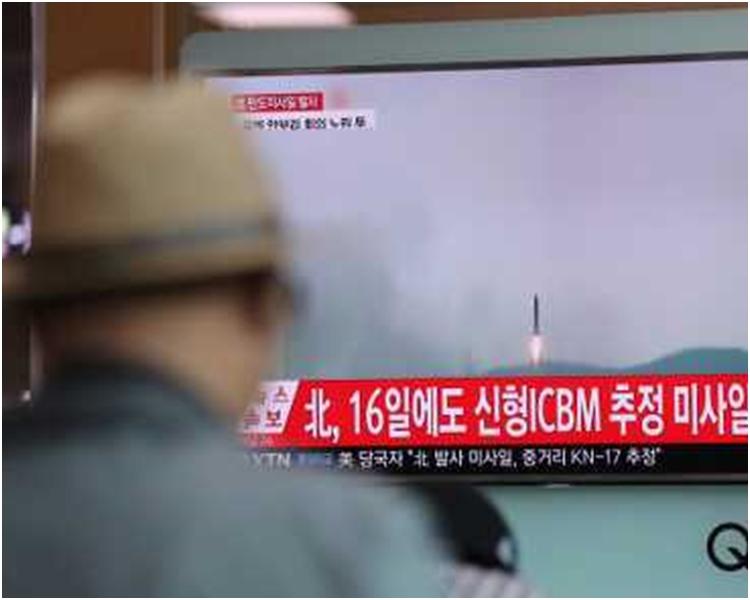 美国和南韩均指这次试射行动看来失败。