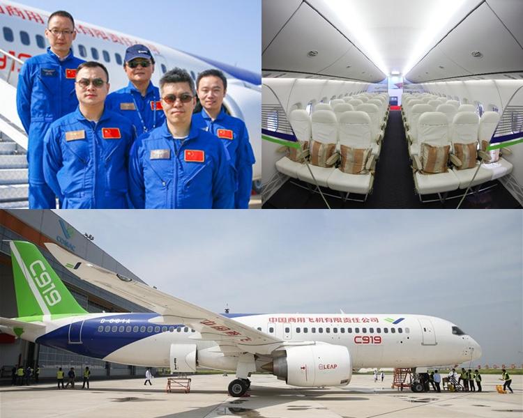 五名機組人員負責今次飛航。
