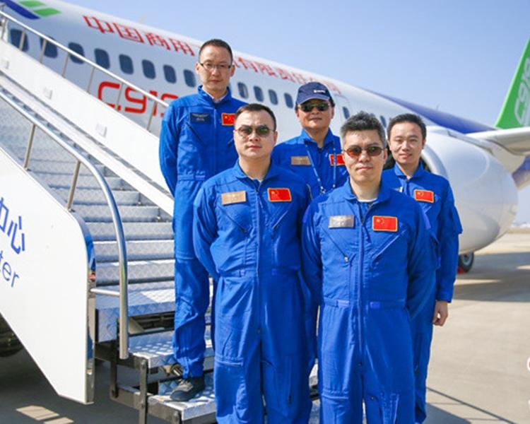 中国制飞机c919料今首航 5机组人员曝光 - 星岛头条网