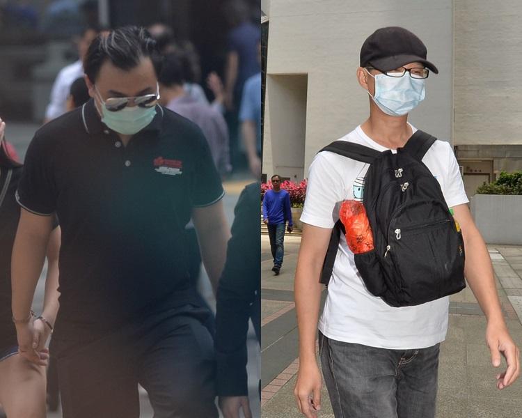 左:楊子軒、陳紹鈞。