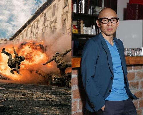 林超賢打造的新片《紅海行動》總投資高達5億人民幣,實景拍攝真槍實彈。