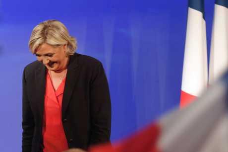 瑪琳勒龐於5月初競選總統落敗。AP