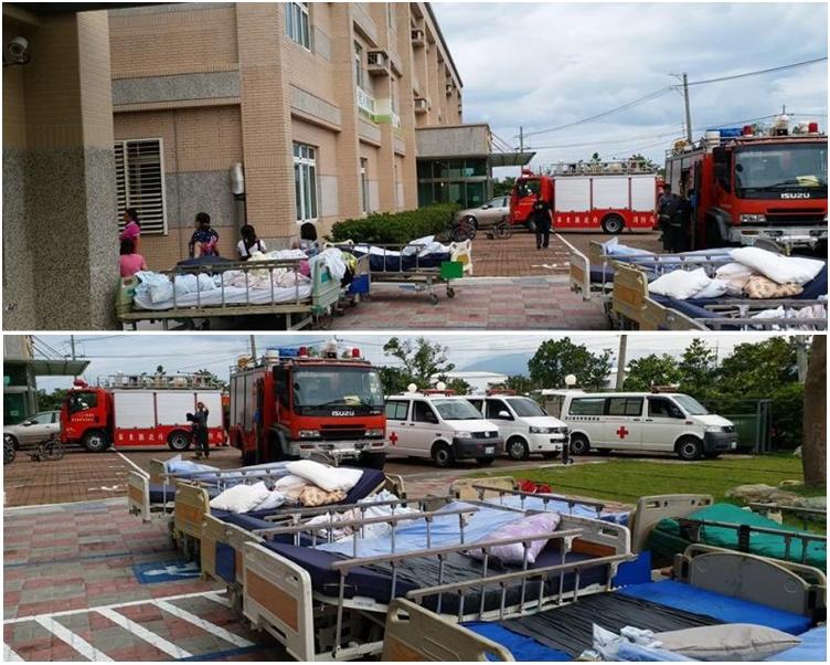 護養院疏散情況。網圖