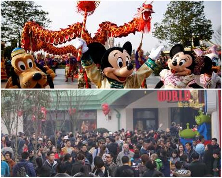 充滿中國特色的上海迪士尼,已接待了超過1000萬名遊客。