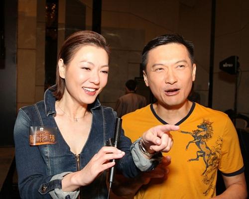 阿田感謝陳錦鴻當年幫忙外,不忘取笑對方長氣到她想唞氣。