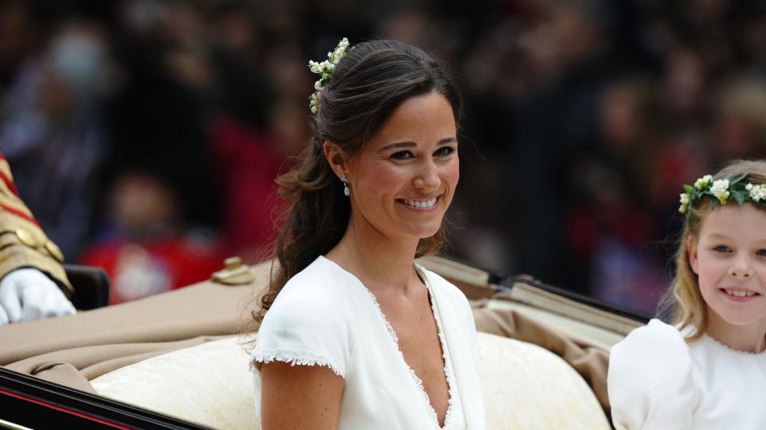 皮帕2011年擔任凱特的伴娘。資料圖片