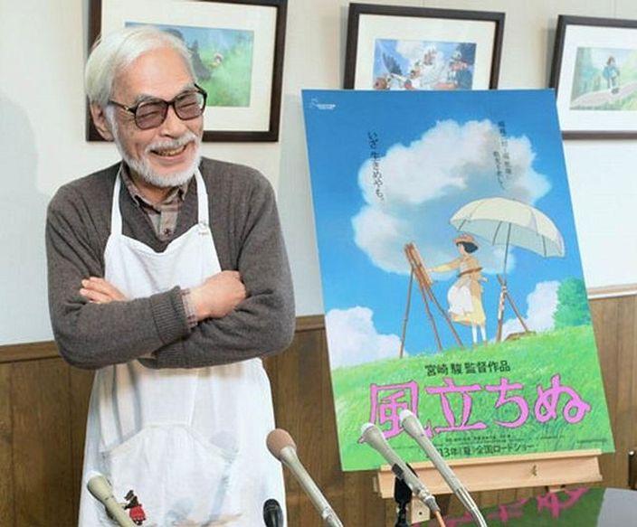 宮崎駿曾表示風起了是最後一部作品,今次再次復出。
