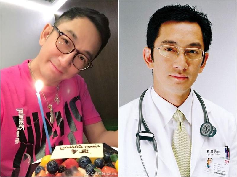 吳啟華昨天53歲生日,外表同廿年前程至美一樣。