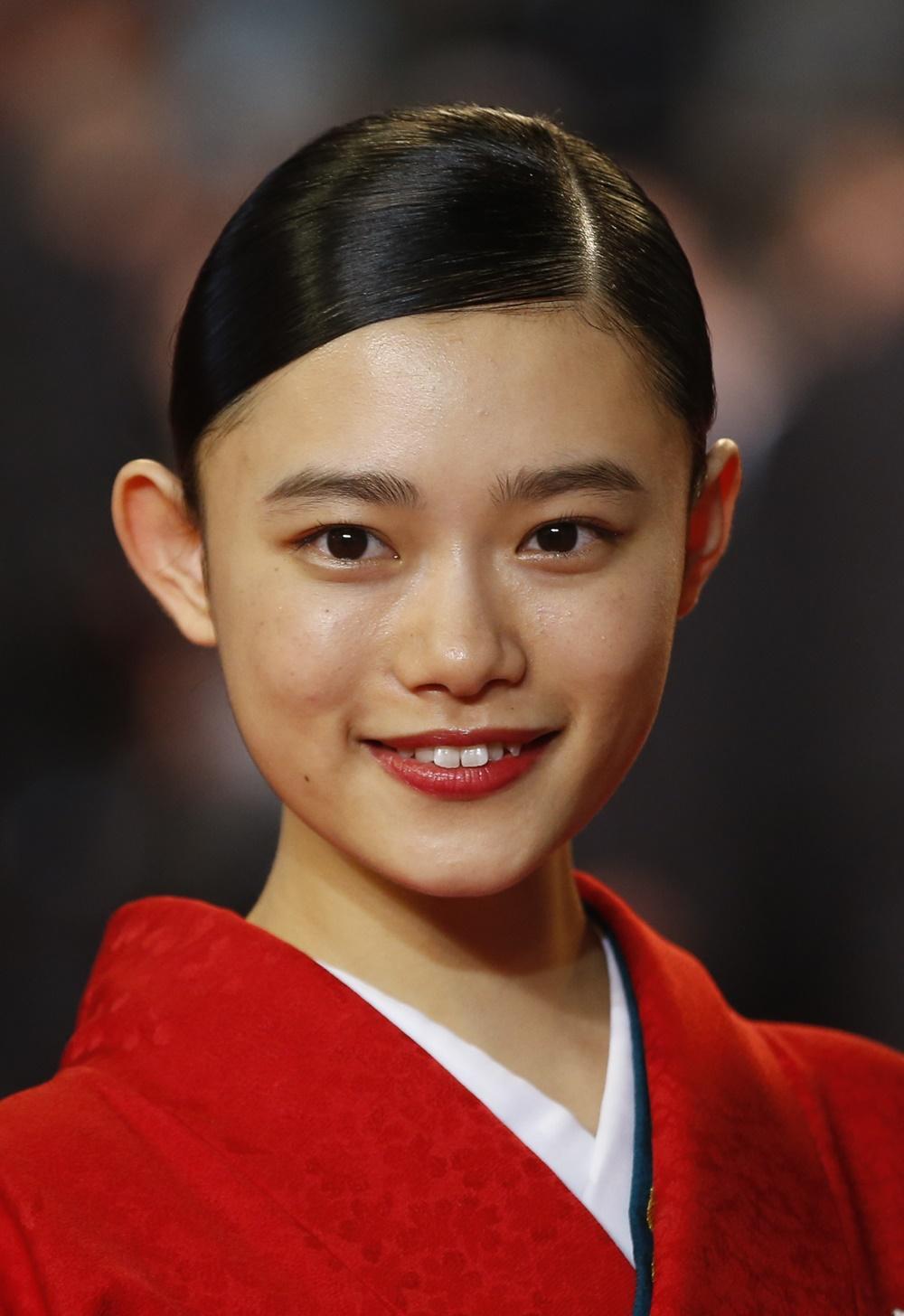 《無限之住人》女主角杉咲花。AP