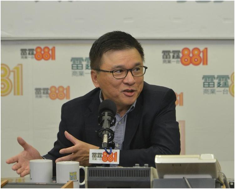 陳家強不評論新政府組班事宜。