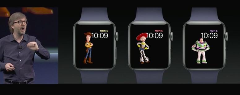 全新Watch OS 4 推出。