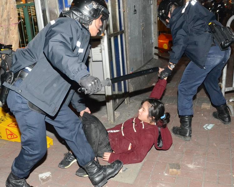 旺角暴亂事件女被告李倩怡,傳身處台灣。資料圖片