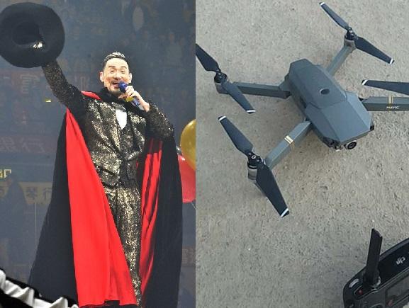 鄭州男子涉場外用無人機拍攝張學友演唱會,遭拘留5天。