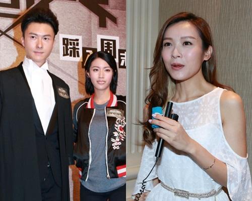 新劇《踩過界》有王浩信騷肌,李佳芯在劇中不乏激情戲。