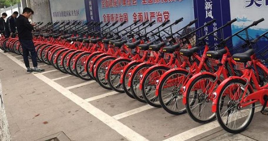有分析指,內地共享單車企業倒閉潮或即將來臨。資料圖片