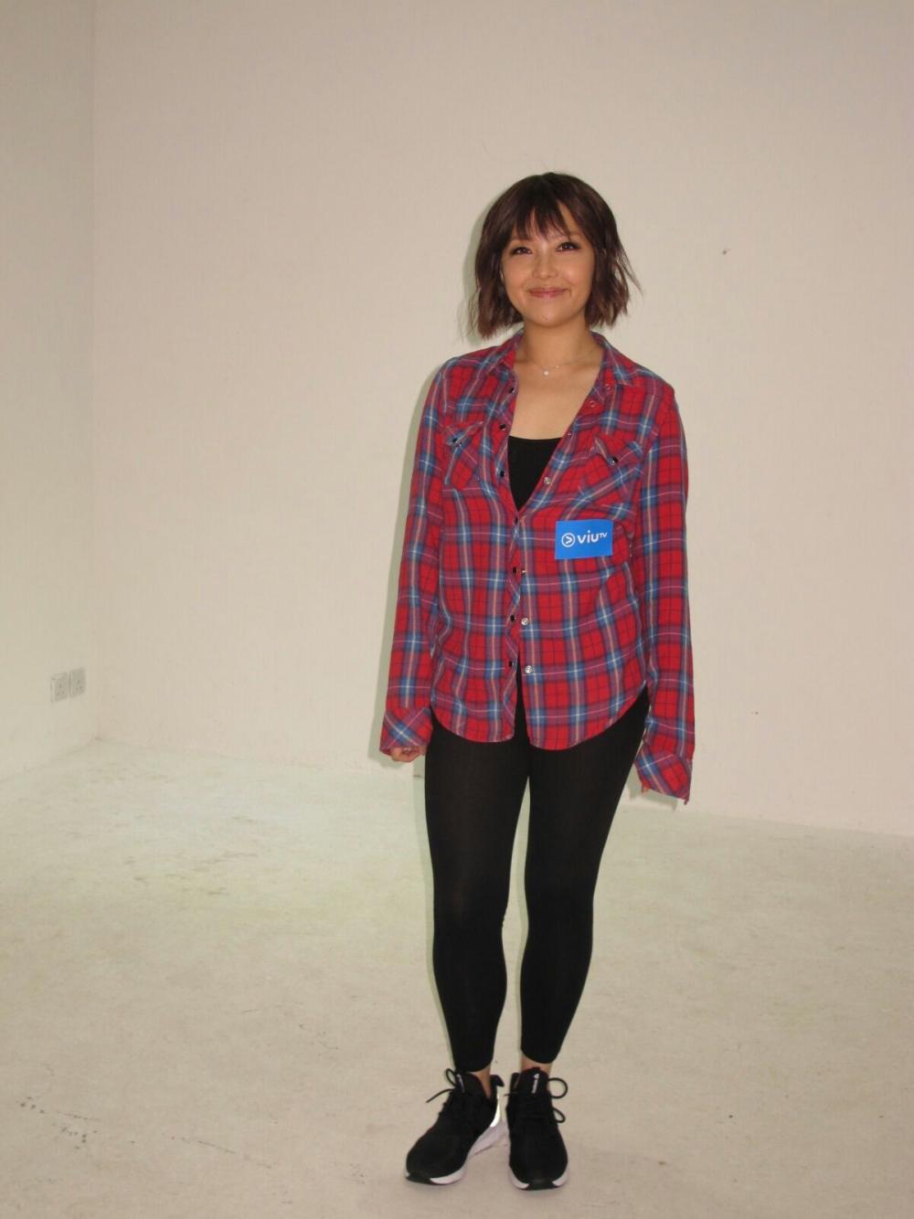衛詩拍攝ViuTV節目《攝 - 太帥》。