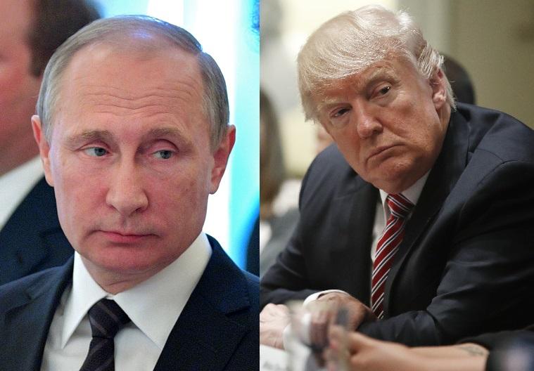 特朗普下周首以总统身份与普京会面。美联社
