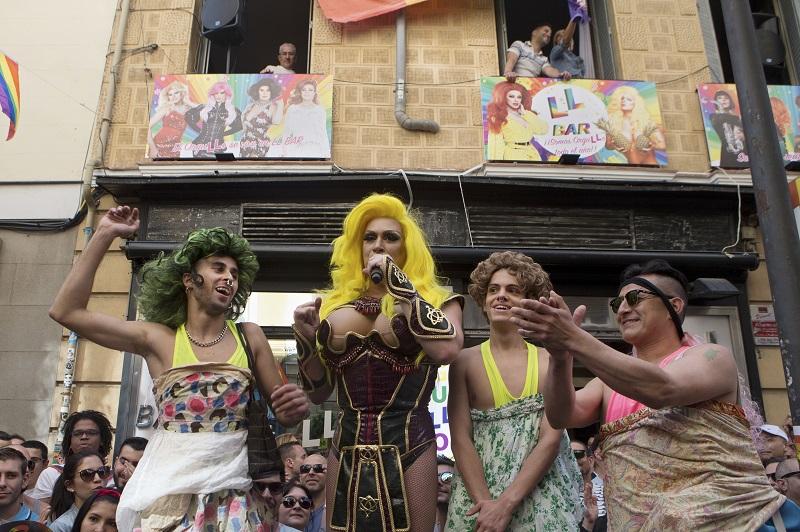 「世界骄傲节」于6月23日至7月2日在马德里展开。美联社