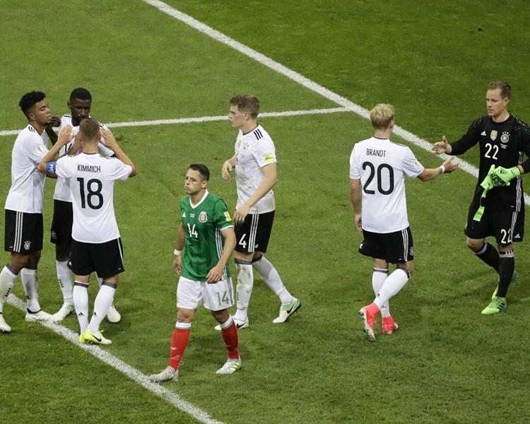 德國4:1輕取墨西哥。AP