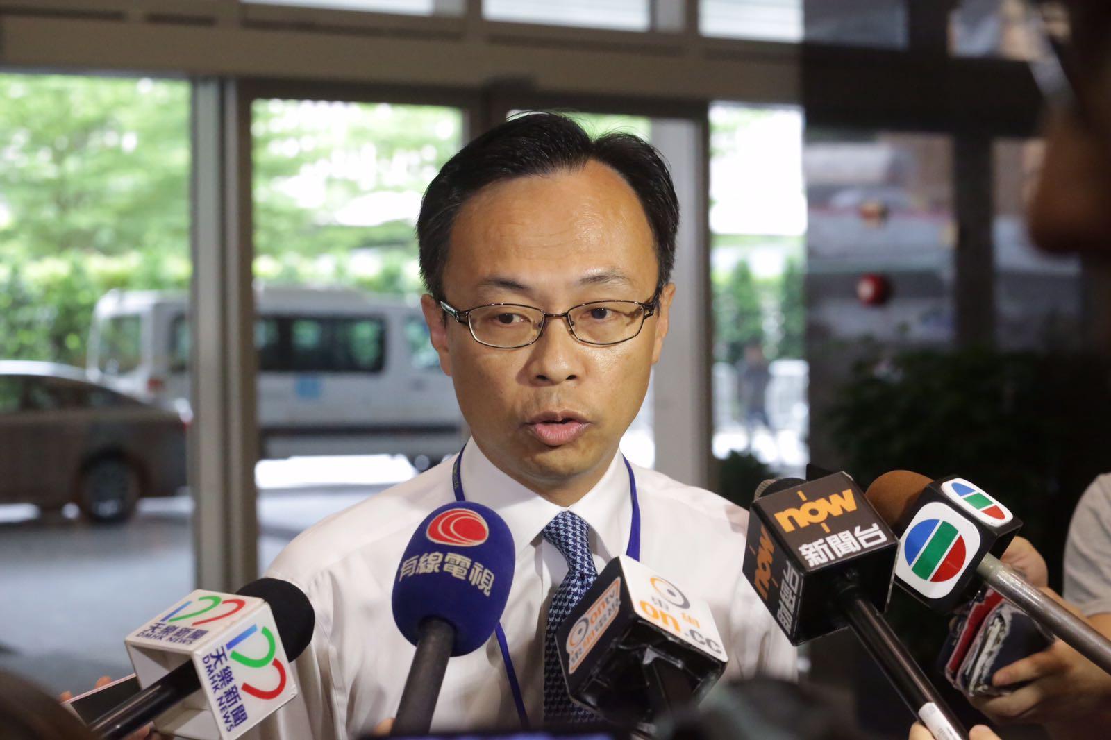 聶德權表示首要工作是跟進大灣區合作協議。