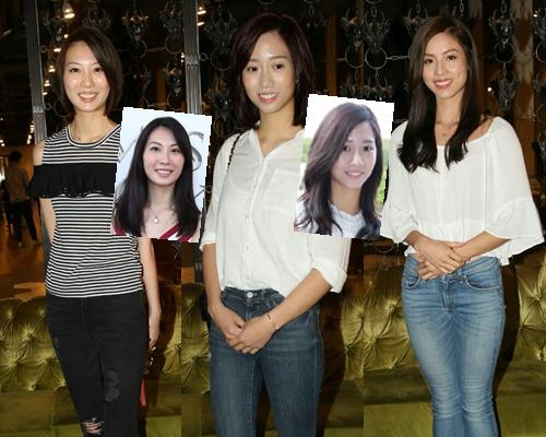 高佻Suki、Nicole大「變髮」,Kelly只是修剪了少許秀髮。