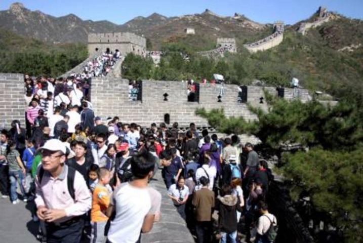 北京嚴打非法「一日遊」,以維護首都形象 。資料圖片
