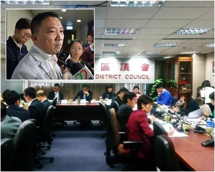 胡志偉(小圖)表示增加議席純粹是數學問題。