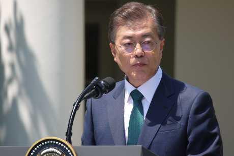 南韓總統文在寅。