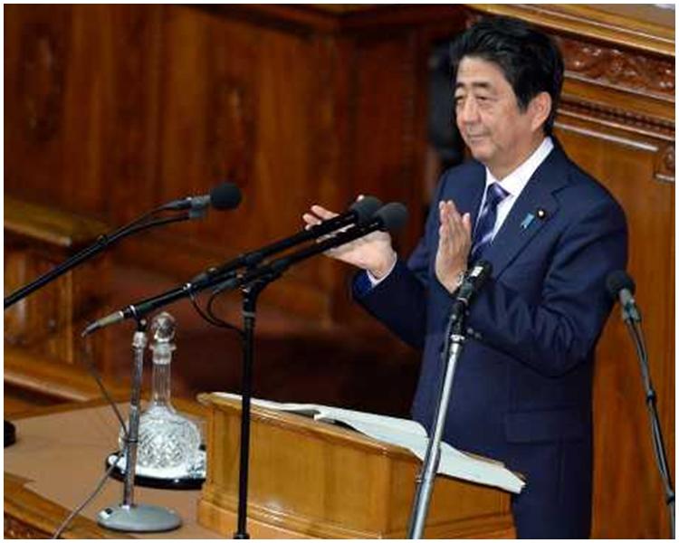 日本首相安倍晉三。新華社圖片