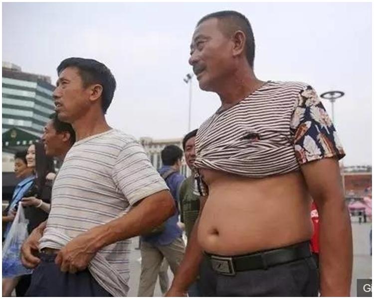 「北京比基尼」只限男人。網上圖片
