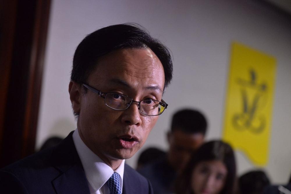 聶德權表示現階段未有明確的立法會議席補選方案。