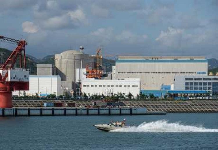 陽江核電站。新華社圖片