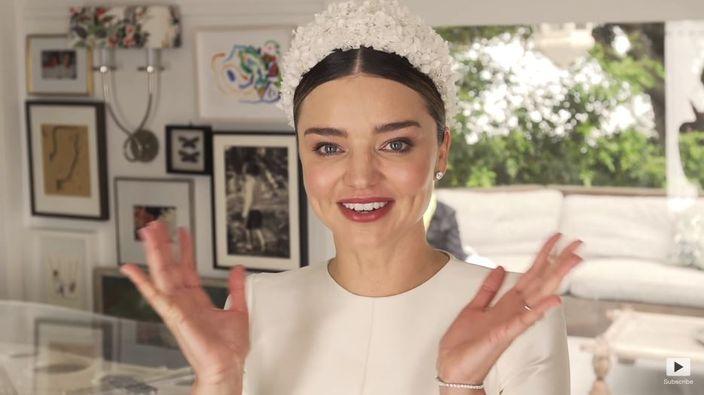 Miranda的婚照花絮曝光。