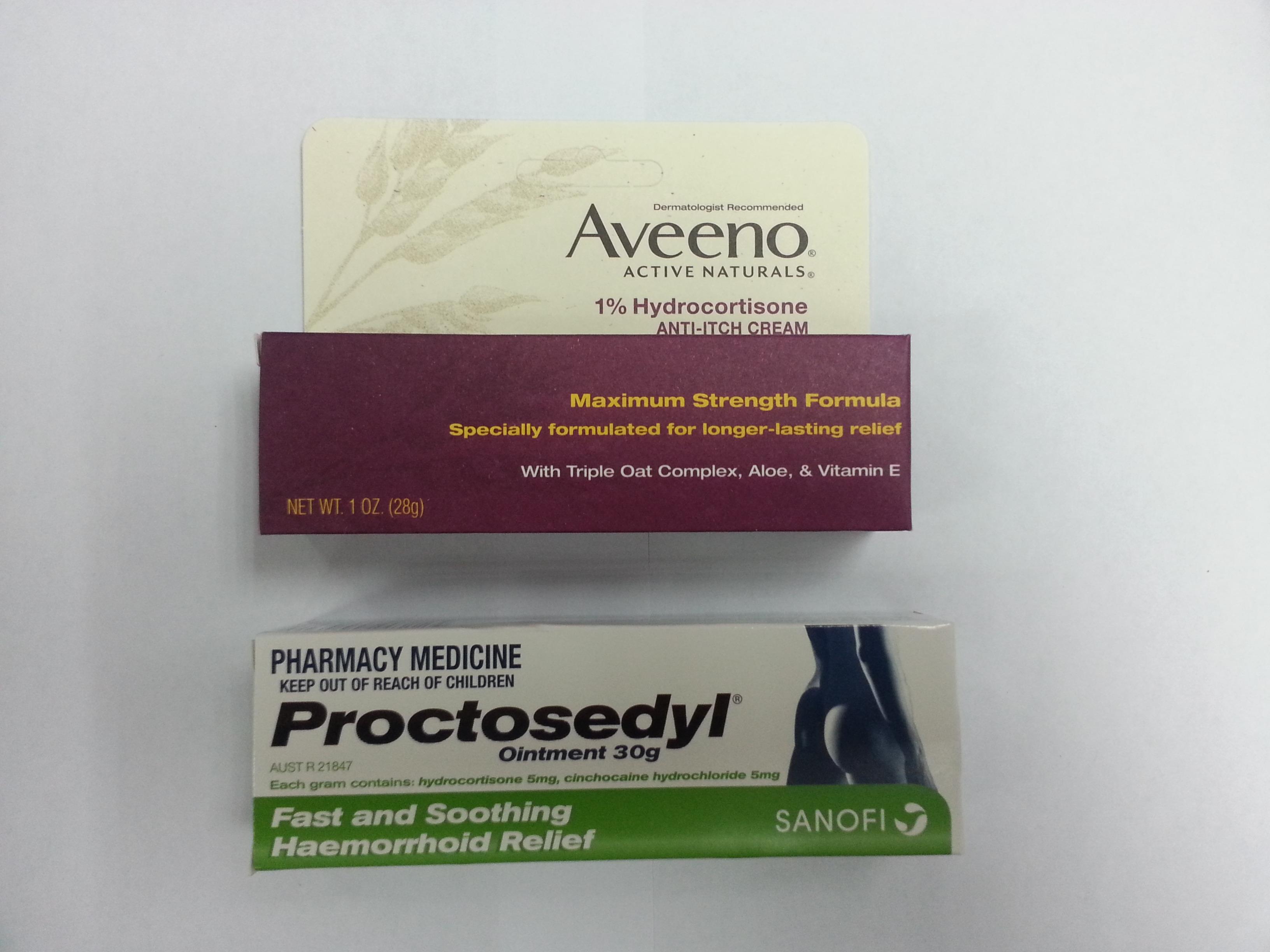 檢獲數款含有受管制成分的外用藥。衛生署圖片