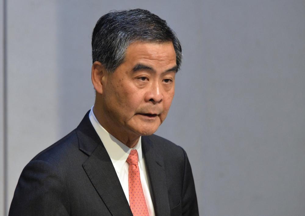 謝偉俊會後表示,委員會將會邀請前行政長官梁振英作為證人出席聆訊。資料圖片