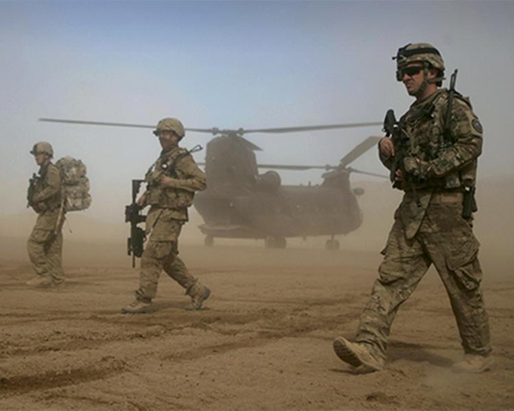 美軍誤炸一個檢查點。資料圖片