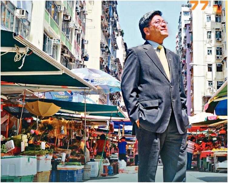 何國鈞去年十二月接任測量師學會會長。