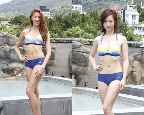 雷莊𠒇透露六嚿腹肌是遺傳的;胡美貽自認泳裝環節有優勢。