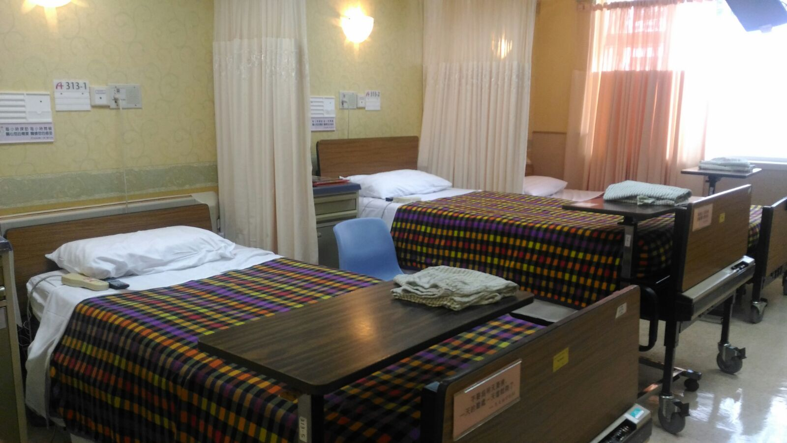 荃灣港安醫院借出低收費病床。