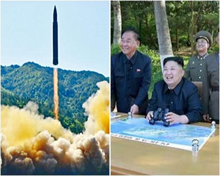 北韓警告正研利用中程彈道導彈發動攻擊。資料圖片